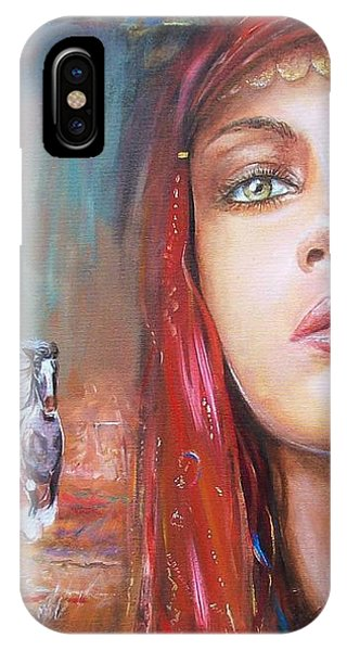 Gypsy Beauty IPhone Case