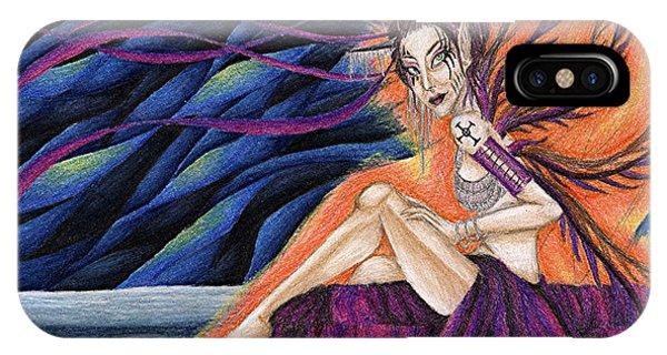 Gypsy Eyes Phone Case by Coriander  Shea