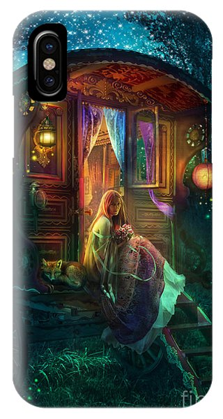 Caravan iPhone Case - Gypsy Firefly by MGL Meiklejohn Graphics Licensing