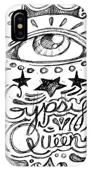 Gypsy Queen  IPhone Case