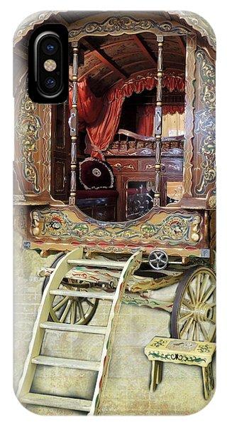 Gypsy Wagon IPhone Case