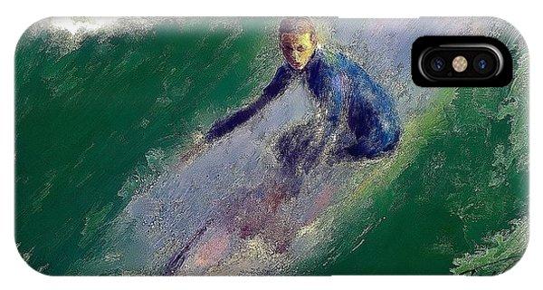 H B Surfer II IPhone Case