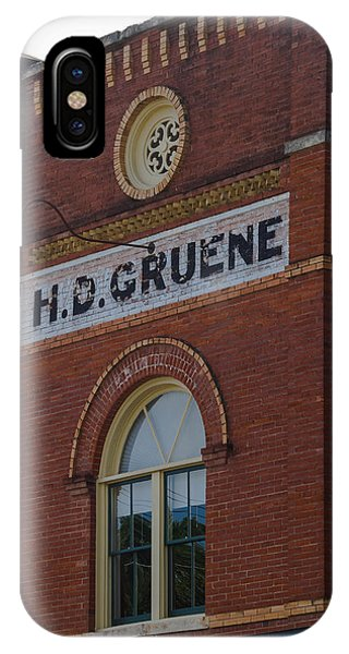 H D Gruene IPhone Case