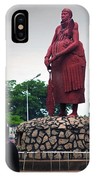 Edo Chief Statue IPhone Case