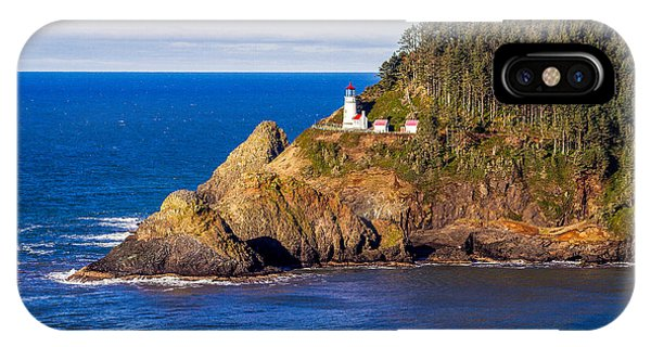 Haceta Head Lighthouse IPhone Case