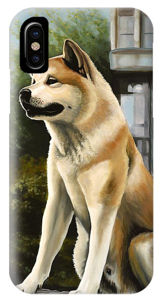 Trains iPhone Case - Hachi Painting by Paul Meijering