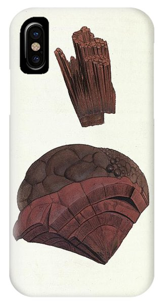 Oxide iPhone Case - Haematite Minerals by Royal Institution Of Great Britain