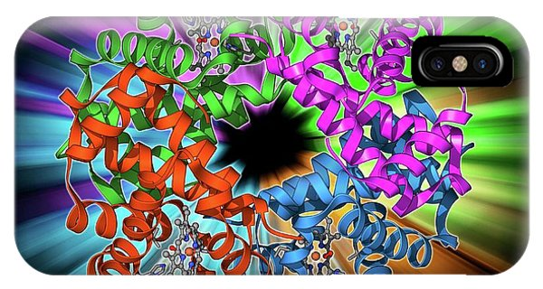 Haemoglobin Molecule IPhone Case