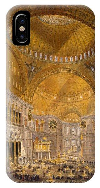 Hagia Sophia, Constantinople, 1852 IPhone Case