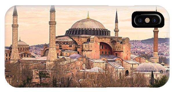 Hagia Sophia Mosque - Istanbul IPhone Case