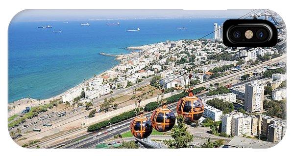 Psi iPhone Case - Haifa by Photostock-israel