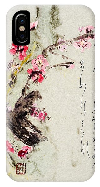 Haiga My Spring Too Is An Ecstasy IPhone Case