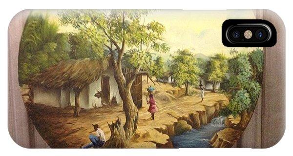 Haitian Landscape IPhone Case