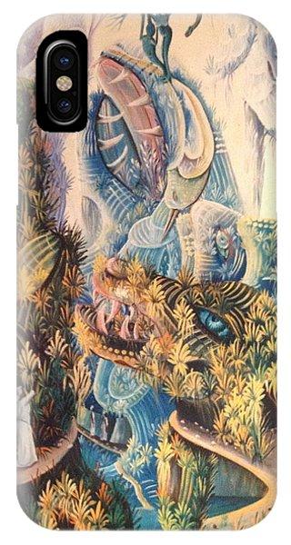 Haitian Mystical Mandscape IPhone Case