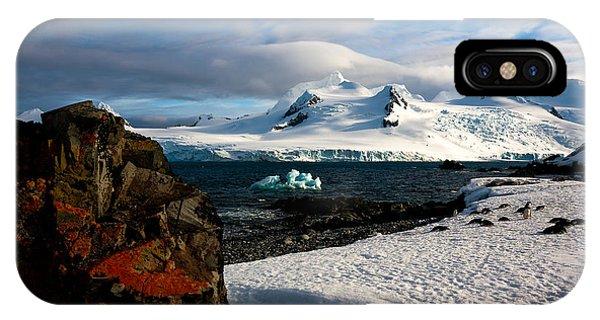 Half Moon Island Antarctica IPhone Case