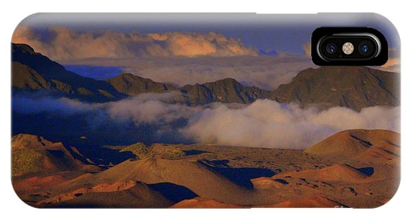 Haleakala Crater Maui IPhone Case