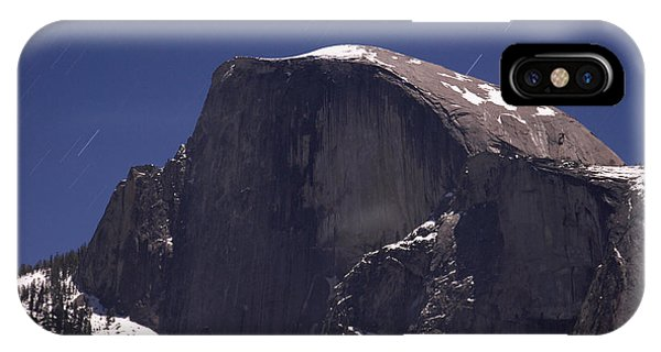 Half Dome And Star Trails Phone Case by Richard Berry