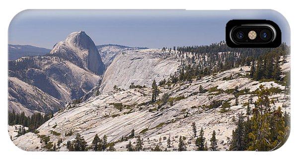 Half Dome And The High Sierra Phone Case by Richard Berry