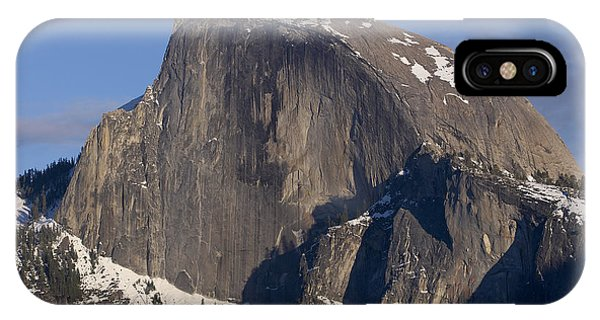 Half Dome Close Up In Winter Phone Case by Richard Berry
