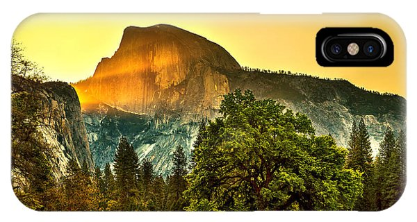 Half Dome Sunrise IPhone Case