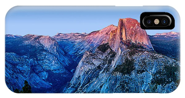 California iPhone Case - Half Dome Twilight by Peter Tellone