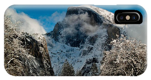 Half Dome Winter IPhone Case