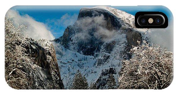 Half Dome Winter IPhone Case