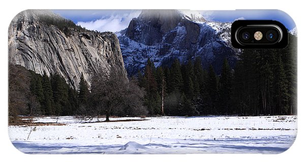 Half Dome Winter Snow IPhone Case