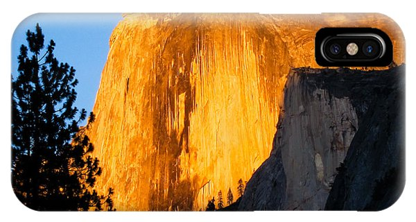 Half Dome Yosemite At Sunset IPhone Case