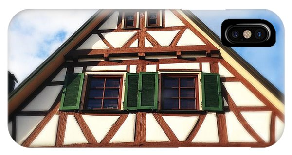 House iPhone Case - Half-timbered House 02 by Matthias Hauser