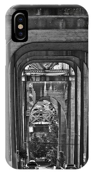 Hall Of Giants - Beneath The Aurora Bridge IPhone Case
