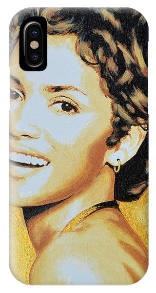 Halle Berry IPhone Case