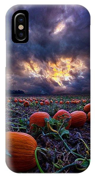 Halloween Is Near IPhone Case