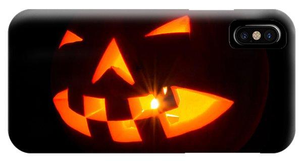 Halloween - Smiling Jack O' Lantern IPhone Case