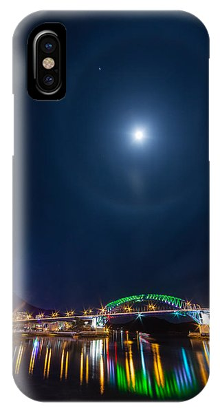 Halo Above The Bridge IPhone Case