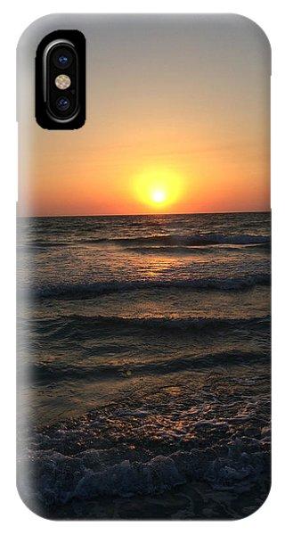 Halo Sun At Indian Rocks Beach IPhone Case