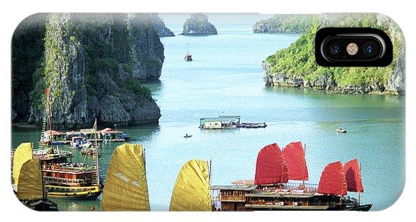 Halong Bay Sails 01 IPhone Case
