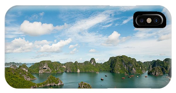 IPhone Case featuring the photograph Halong Bay Vietnam by Michalakis Ppalis