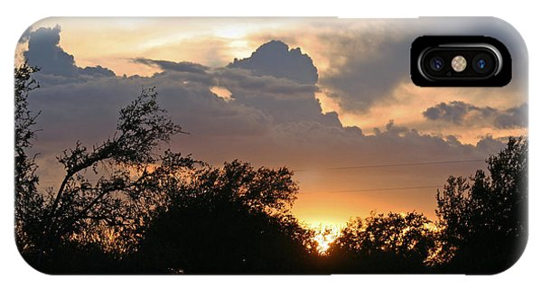 Hamilton County Sunset IPhone Case