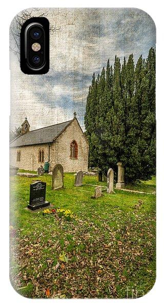 Celtics iPhone Case - Hamlet Church by Adrian Evans