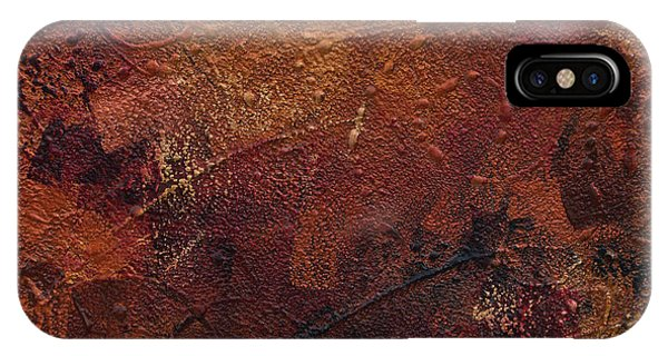 iPhone Case - Hammered Copper by Julie Acquaviva Hayes