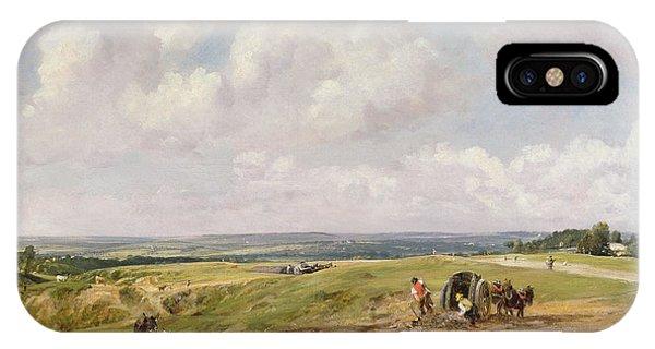 North London iPhone Case - Hampstead Heath, C.1820 by John Constable