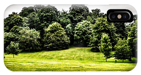 Hampstead Heath Greens IPhone Case
