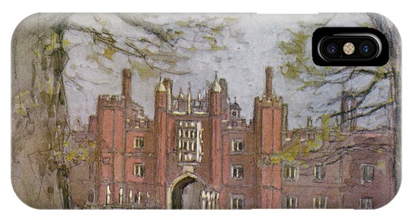 Hampton Court, West London, Showing Phone Case by Mary Evans Picture Library