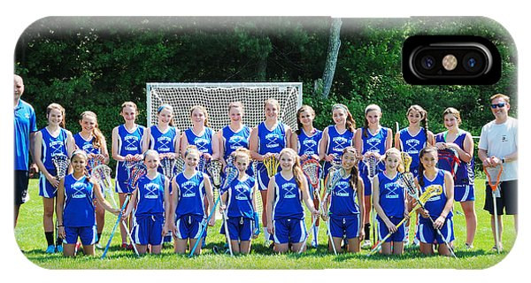 Hampton U15 Girls 2013 IPhone Case