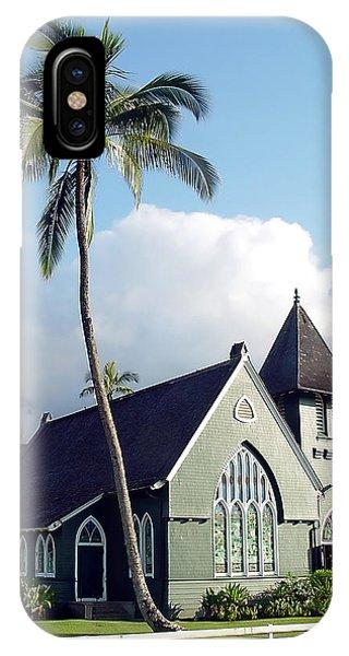Hanalei Church 2 IPhone Case