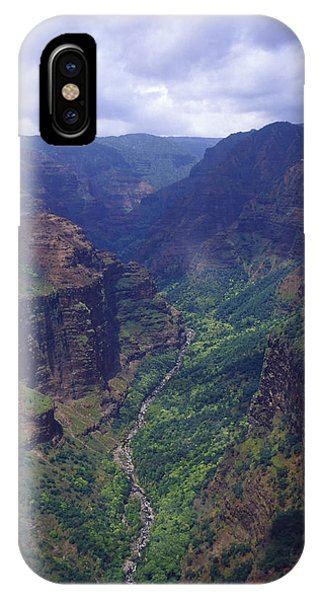 Hanapepe Valley I IPhone Case