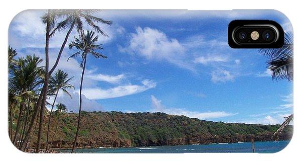 Hanauma Bay Oahu Hawaii IPhone Case