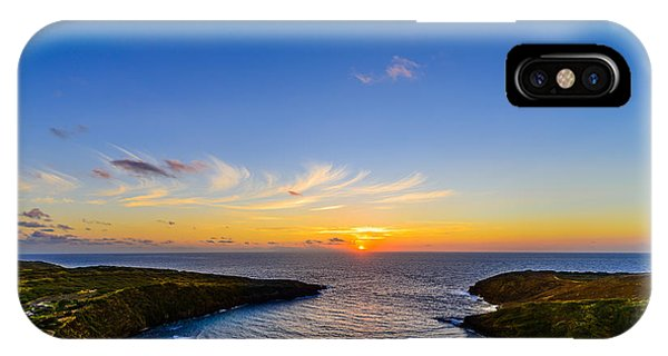 Hanauma Bay Sunrise IPhone Case