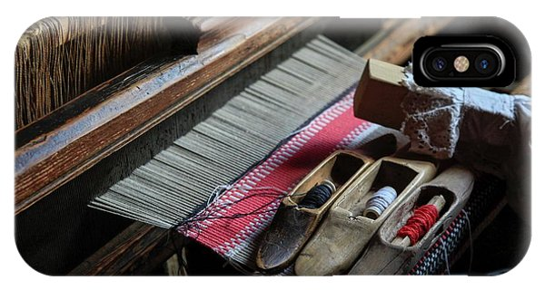Psi iPhone Case - Hand Loom by Photostock-israel